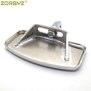 Image 5 - ZORBYZ motosiklet ayarlanabilir döşeme ayaklıklar Footrest Pad Honda VTX1300 VTX1800 Suzuki VL400 C50