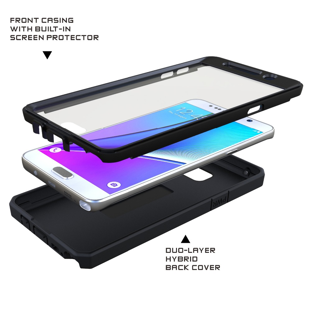 100% authentic 0c557 922bf US $9.12 45% OFF|JOYLINK Heavy Anti knock Dual Layer Fitted Case for  Samsung Note 5 Built in Screen Protector Armor Rugged Hybrid Cover,Black-in  ...