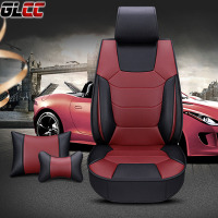 Top Grade Microfiber Leather Car Seat Cover Universal Automobiles Cushion All Season Interior Decoration Accessories 4 Colours