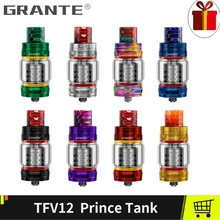 Grante TFV12 Prince Atomizer Vape Tank With 810 Drip Tip Mouthpiece TFV12 T10 Coil Vaporizer Electronic Cigarette For SMOK MAG
