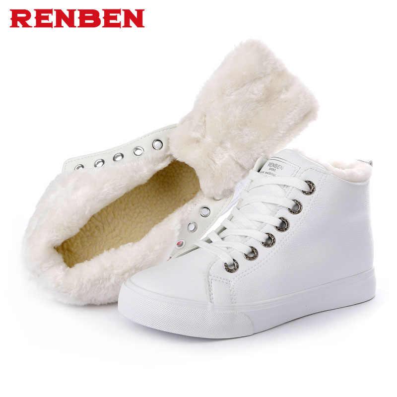 Autunno inverno donna stivaletti nuova moda donna stivali da neve per le ragazze signore lavoro scarpe più di formato