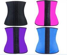 Hot Deportiva latex waist cincher trainer hot shaper fast weight loss girdle slimming belt waist corset