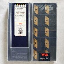 KNUX160405R YG801 استبدال LAMINA KNUX 160405 100% الأصلي YG العلامة التجارية مع أفضل جودة 10 قطعة/الوحدة شحن مجاني