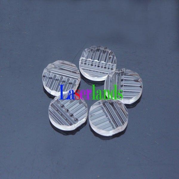 5 шт. Крест Канифоль Пластик объектив для лазер/лазер диодный модуль