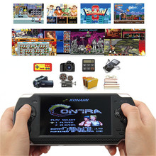 HOMEREALLY Handheld Game Players X6 Portable Console 8GB 4.3Childhood Games Built-In Player
