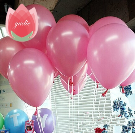 10pcs 10 inch Pink Multicolor Latex Balloon Air Balls Inflatable For Wedding Party Decoration Birthday Kid Party Float Balloons
