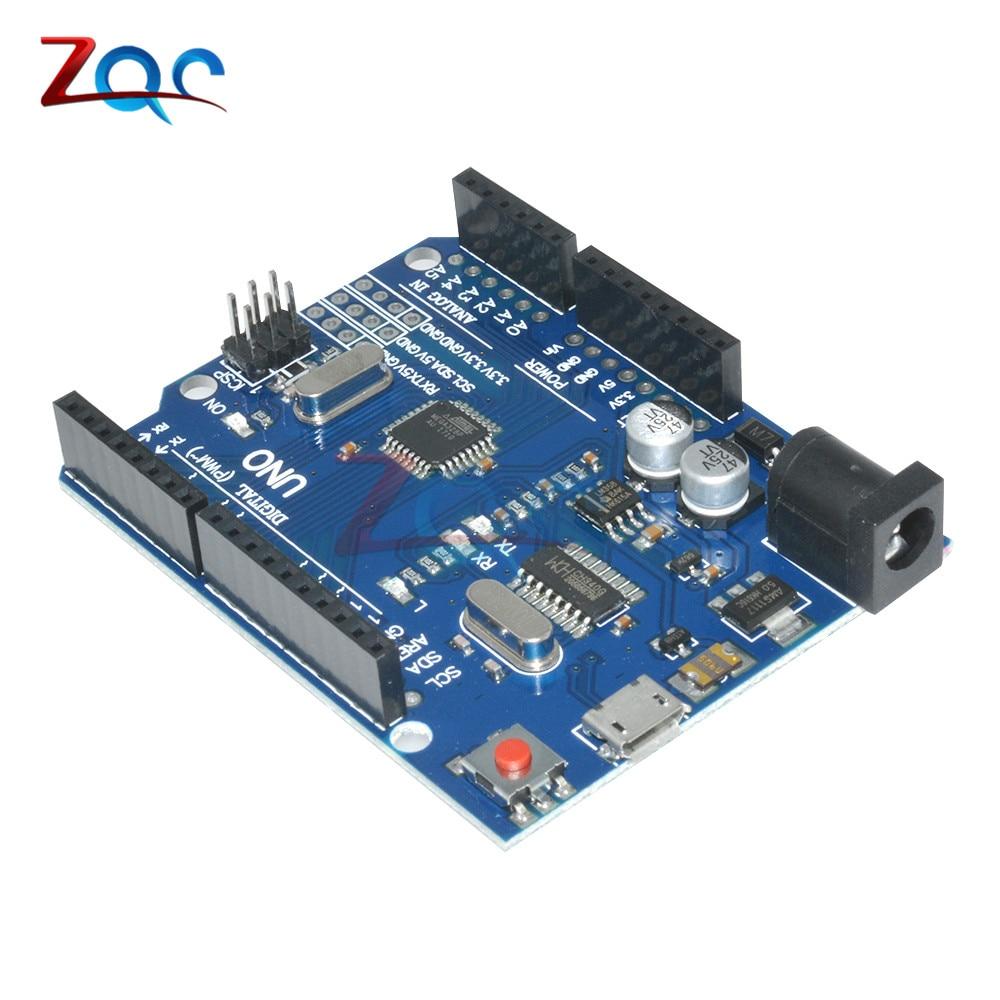 ATMEGA328P-16AU Micro USB UNO R3 MEGA328P CH340 CH340G Board ATMEGA328P-AU Controller Module Replace ATmega16U2 One