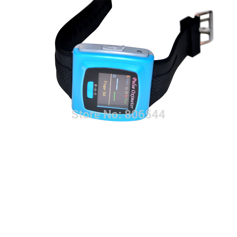 Color OLED Wrist Fingertip Pulse Oximeter with Software - Spo2 Monitor color oled wrist fingertip pulse oximeter with software spo2 monitor