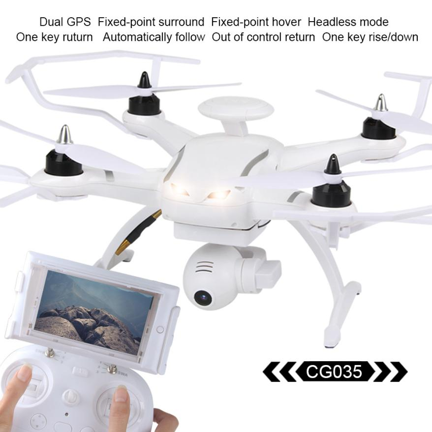 New Arrival CG035 Brushless GPS 5.8G FPV With 1080P HD Gimbal Camera Follow Me Mode RC Quadcopter RTF D30 new arrival free shipping new arrival mjx x705c x705 wifi rc helicopter quadcopter 2 4g 4ch rtf with without c4005 fpv camera
