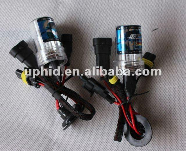 Free shipping 12V 35W HID Xenon Bulb H11 6000K Conversion Kit Car Head Lamp Light Replacement Super Vision
