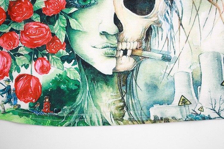 HTB1DtzZIVXXXXXVXXXXq6xXFXXXN - cartoon skeleton print crop top short girlfriend gift ideas