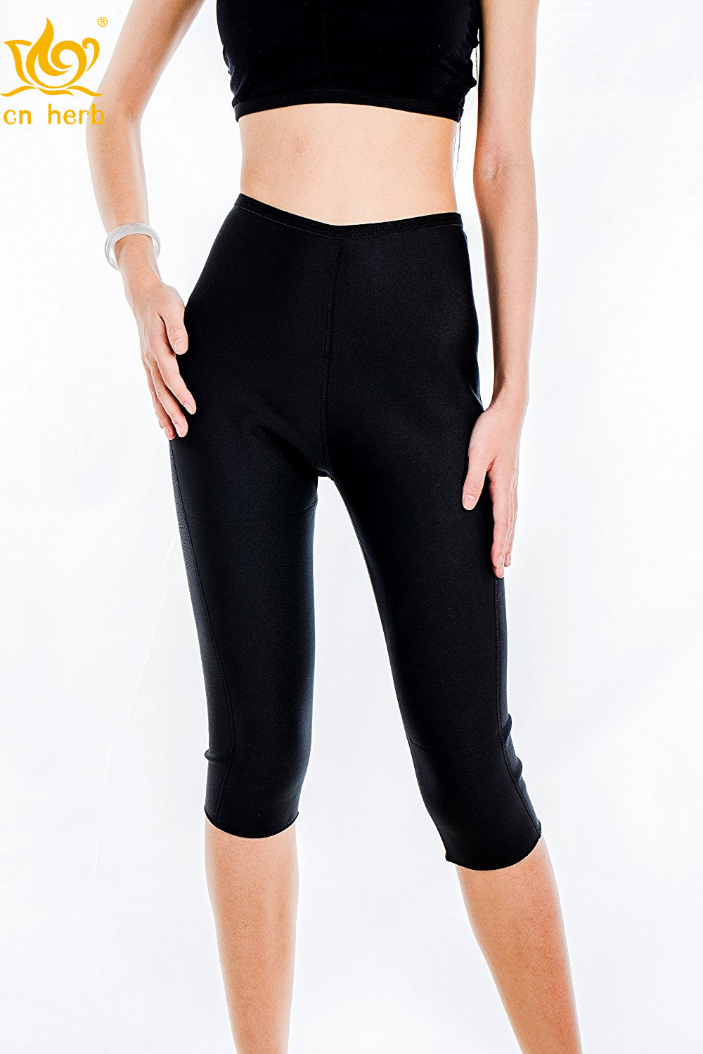 83b578a8b8 Cn Herb Valentina Womens Slimming Pants Hot Thermo Neoprene Sweat Sauna Body  Shapers Free Shipping -in Slimming Product from Beauty   Health on ...