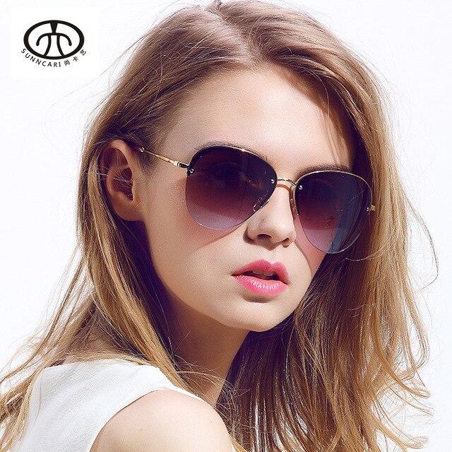 5aacebf361e4 HOT SALE Summer Half Coating Fashion Sunglasses Women   Men Top Design  Classic Aviator Oculos Unisex Sun Glasses 6 Colors