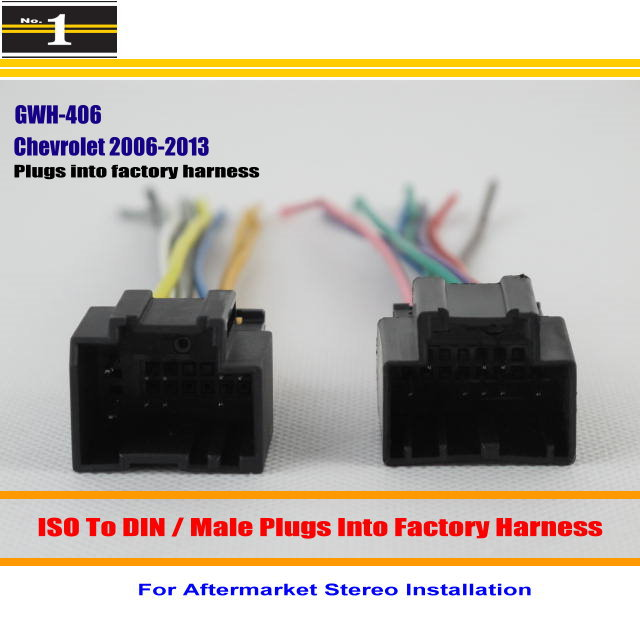 Pack Early Gm Car Stereo Wiring Harness Wire Aftermarket Radio Cd