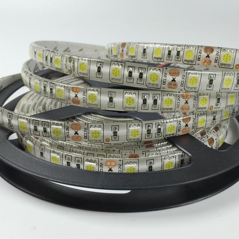 LED Strip lumina 5050 SMD 300LEDS 5m / Roll 12V 72W impermeabil Strip - Iluminat cu LED