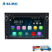 A-sure Android 6.0 2Din GPS Player für Chevrolet AVEO CAPTIVA EPICA LOVA FUNKEN WiFi DAB + Radio Navigation Bluetooth QuadCore DVD