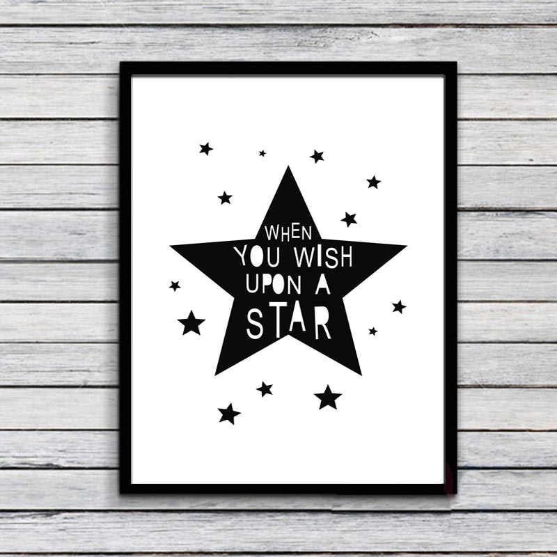 Buy when you wish upon a star printable - Posters para pared ...