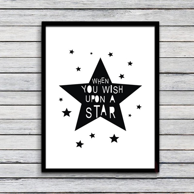 When you wish upon a star printable canvas painting,Nursery ...