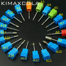 KIMAXCOLA 3/32 Diamond Nail Drill Milling Cutter Electric Bit For Manicure Bits Accessories