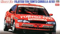 1/24 Assembling Car Models Fujitsu Ten Tom S Corolla AE 101 20302