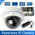M3881C HD Outdoor Fisheye 3MP IP Camera POE Module 180/360 Degree Wide Angle Panorama CCTV Camera Dome Security Camera Onvif