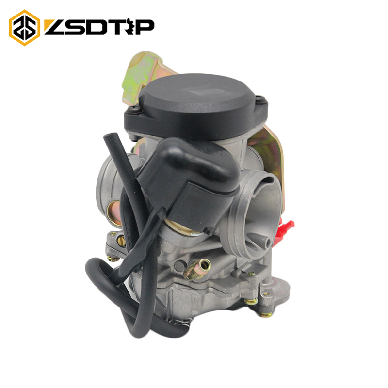 ZSDTRP Motorcycle 26mm CVK26 Carburador Carburetor Fit For cvk 26 Replace Kehin For GY6 150cc~250cc Racing Scooter Carbs nibbi 27 28 30mm pe27 28 30 round side carburetor fit to racing motor gy6 refires large caliber jog rsz cvk free shipping
