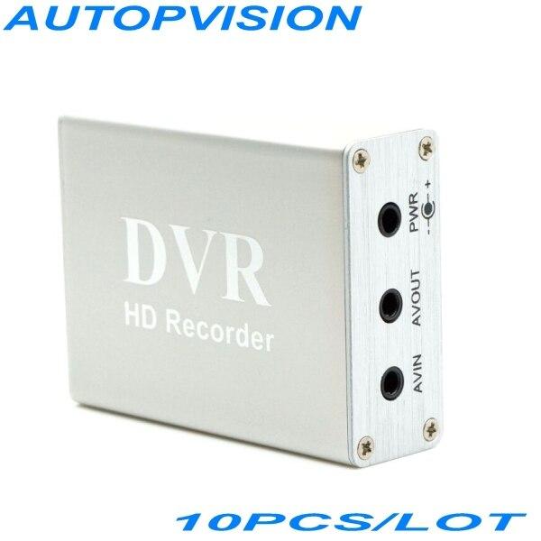 Mini HD 1 Channel Super-Smart Mini Xbox DVR Board real time The Fashional Shape Security DVR Color Silvery