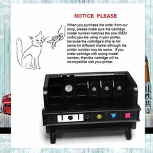 YOTAT 4 slot Remanufactured 364 printhead For HP364 print head For HP Photosmart C5324/D5468/D5463 printer