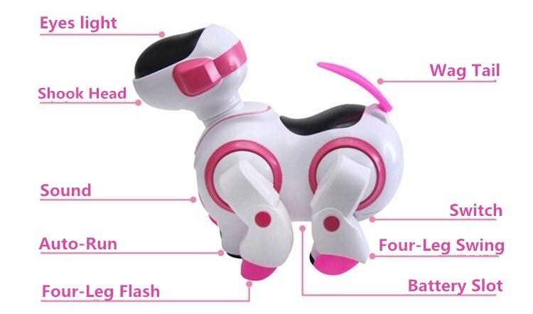 Новая электрическая авто-ловушка для запуска Танцы робот собака электронный питомец детские развивающие игрушки Рождественский подарок