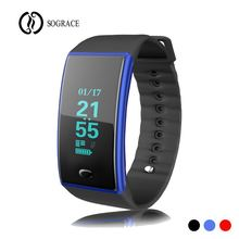 ФОТО Sograce Wristbands Fitness Tracker Call Reminder Smart Bracelet Passometer Fitness Tracker Heart Rate 096 Inches  Smart Band