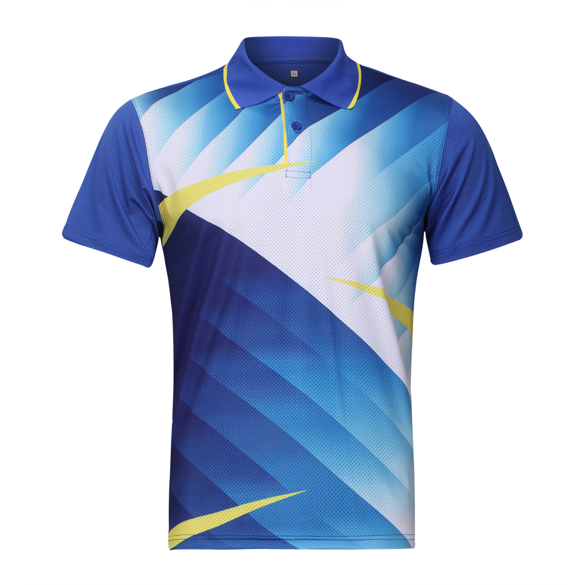 Quick Dry Badminton Sports Shirt Tops Breathable High-end Competitive Level Men tennis T-Shirts team short sleeve POLO T Shirts
