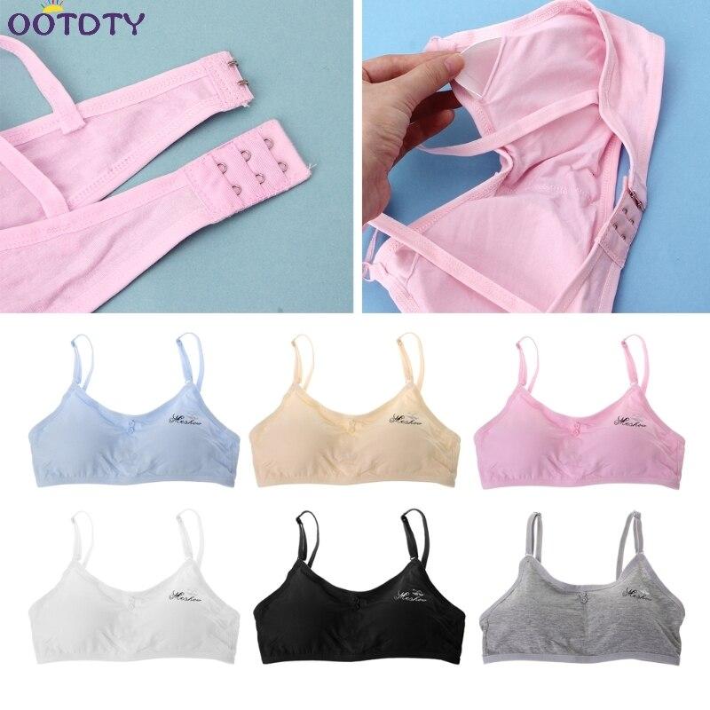 10 Zu 18 Junge Mädchen Bh Dünne Training Unterwäsche Spitze Weiche Atmungsaktive Baumwolle Bh Teenager Kinder Bh Für Student Ausbildung Bhs