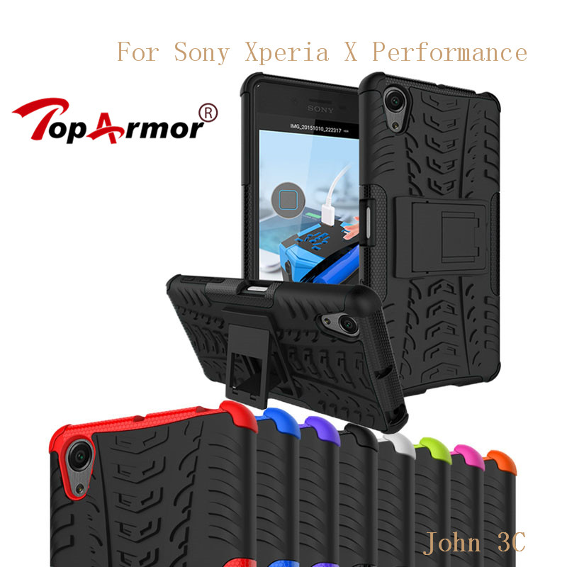 TopArmor For Sony Xperia X Performance Case Cover Shock Proof TPU+PC Heavy Armor Shell For Sony Xperia X Performance Phone Cases