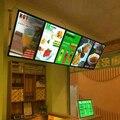 Alta Qualidade & Brilho Loja Fast Food Restaurante Acrílico Mgnet Placas Do Menu Com LED Edge-lit