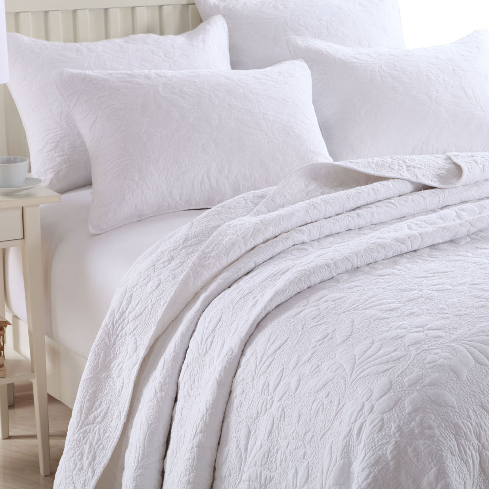 buy white 100 cotton quilting bedding set housse de couette bed line quilt bed. Black Bedroom Furniture Sets. Home Design Ideas