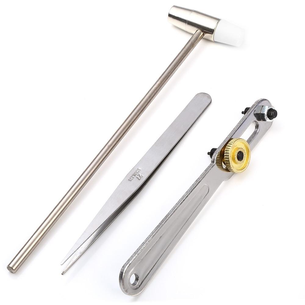 16pcs kit di strumenti per la riparazione di orologi Set di strumenti - Set di attrezzi - Fotografia 3