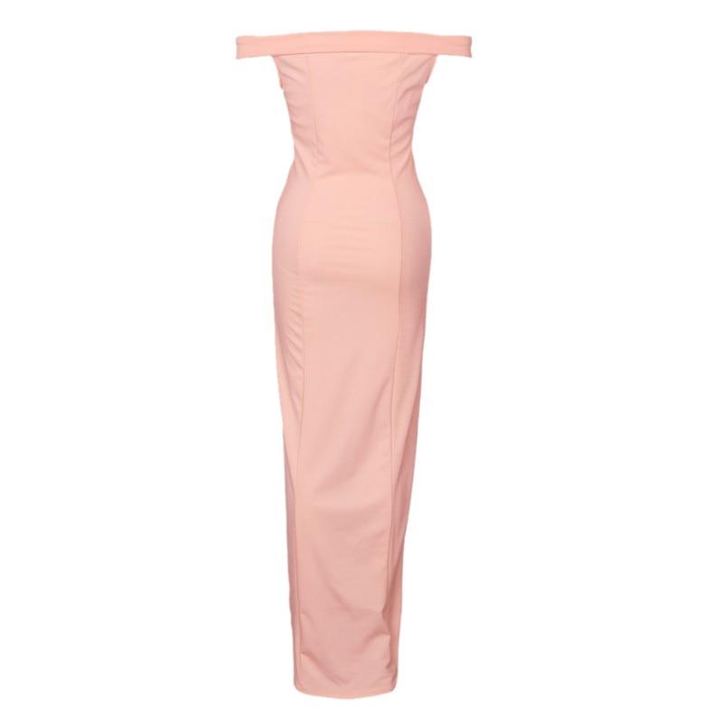HTB1Du2CSpXXXXaoXXXXq6xXFXXXa - Summer Dresses Strapless Solid JKP073