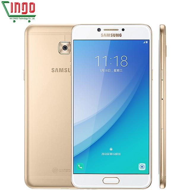 "2017 Original Samsung Galaxy C7 Pro C7010 4G RAM 64G ROM Octa Core Dual Sim 5.7"" 3300mAh 16MP 4G LTE Smart Phone"