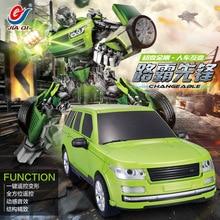 Лидер продаж деформируется автомобиля Робот Цзя Ци tt651 пульт дистанционного управления робот RC грузовик RC робот автомобиль RC трансформация подарок для дети