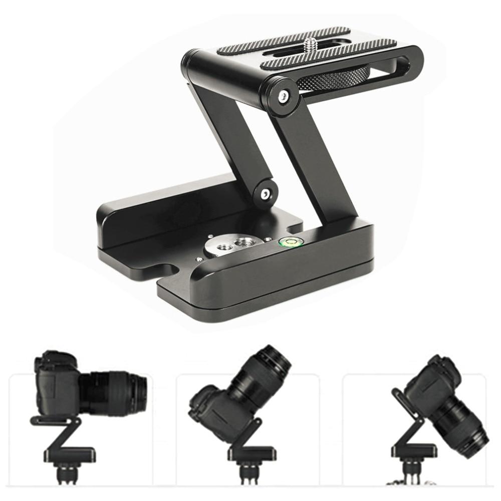 все цены на Folding Z Type Stand Holder Professional Tripod Kit Flex Tilt Head Pan Ball Head Folding Desktop Compatible Camera Camcorder онлайн