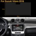 Coche Que Labra Acero Película Protectora de Pantalla de 9 Pulgadas de Navegación GPS Para Suzuki Vitara 2016 Etiqueta Engomada Del Coche de Control de Pantalla LCD