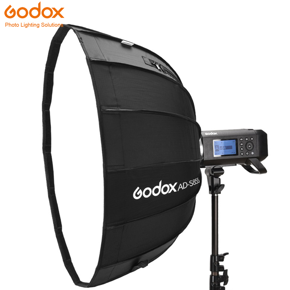 Godox AD-S85S 85cm Silver Deep Parabolic Softbox with Honeycomb Grid Godox Mount Softbox for AD400PROGodox AD-S85S 85cm Silver Deep Parabolic Softbox with Honeycomb Grid Godox Mount Softbox for AD400PRO