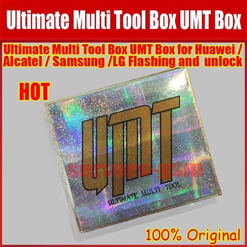 100% boîte à outils universelle ultime boîte UMT pour déverrouillage Cdma, flash, verrouillage Sim livraison gratuite
