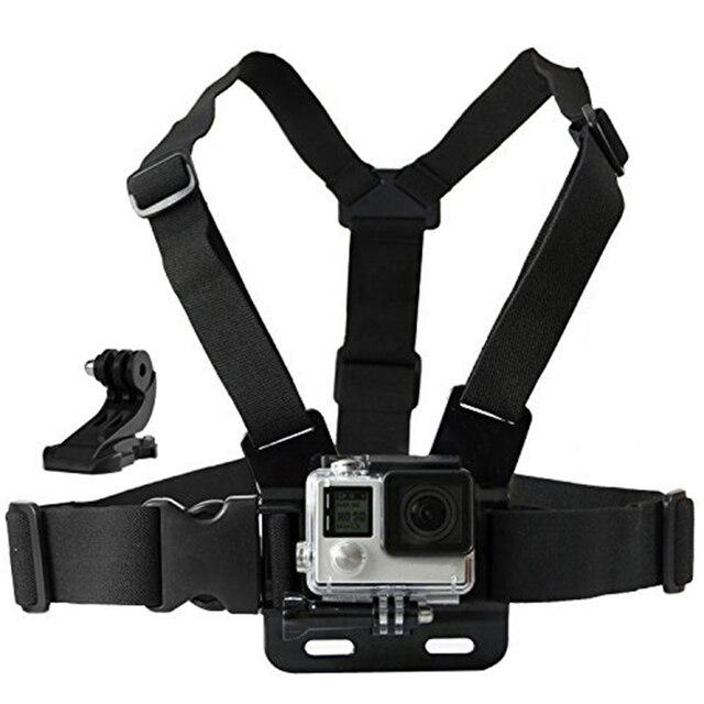 Грудь Гора Жгут ремень Аксессуары для Gopro hero 5 SJCAM SJ4000 Go Pro Действий камеры Ремень С J крепление камеры спорта 10