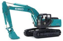 Литая под давлением игрушка модель подарок 1:50 Motorart Kobelco SK210LC-10 гидравлические экскаваторы инженерное оборудование для украшения коллекции