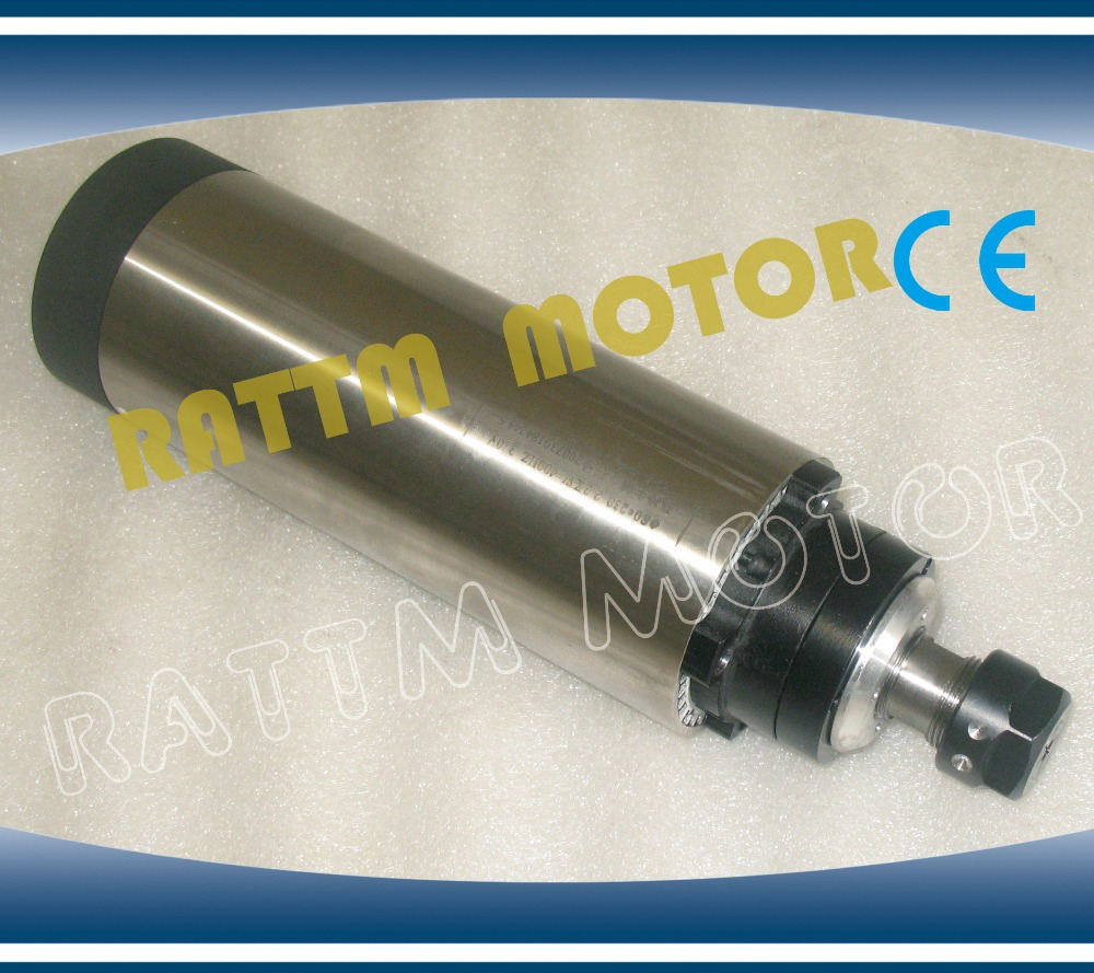 2.2KW AIR-COOLED 80x230mm/220V CNC SPINDLE MOTOR E...
