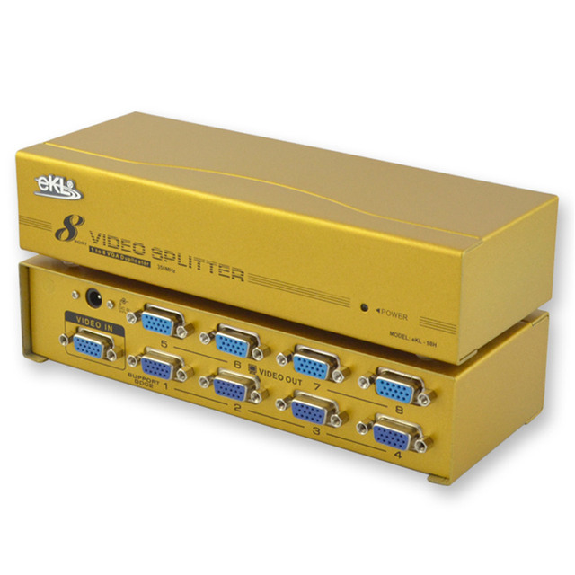 Vga splitter counter-down computer hd 350mekl