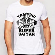 Super Saiyan T shirt Cool Tops Dragon Ball Short Sleeve Tees