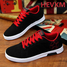 HEVXM New Fashion 2016 Air Breathable Men's Casual Shoes Antislip Canvas Men Shoes Sapatostenis Male Flat With Classic Shoe