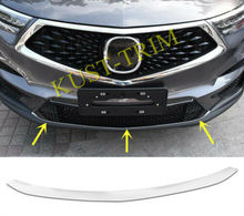 FIT FOR 2019 Acura RDX Stainless steel Front Bumper Bottom Protector Cover Trim